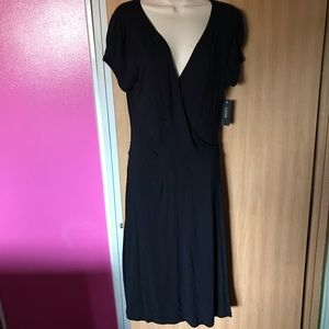 Beautiful black GNW wrap dress